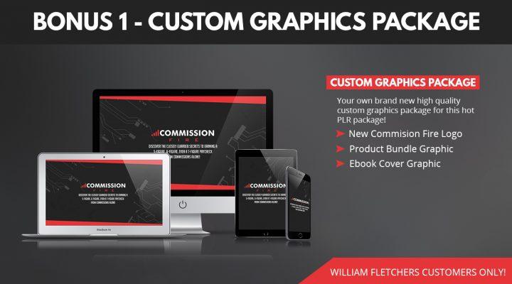 [NEW PLR] Commission Fire And My Custom Bonus Package