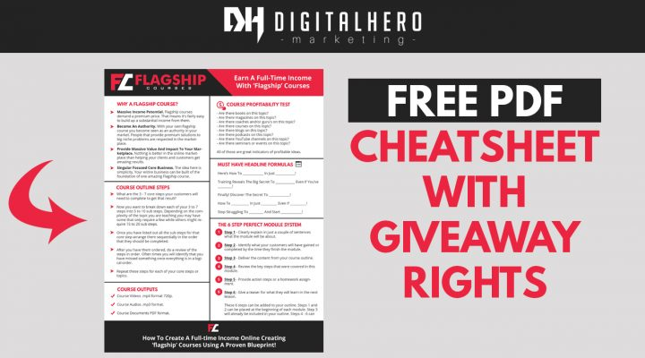Awesome PDF Cheatsheet With Giveaway Rights (no cost)