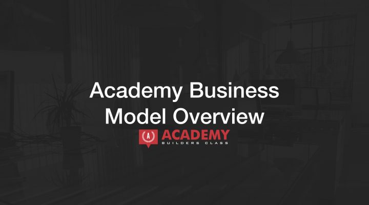 Academy Business Model Overview